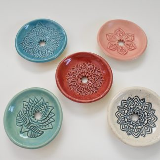 Keramik Seifenschalen