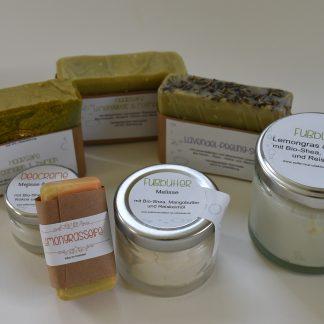 Produkte mit ätherischen Ölen